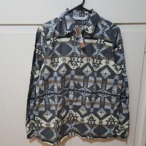 6dc34b4b Woolrich Tops | Keystone Printed Chamois Shirt | Poshmark